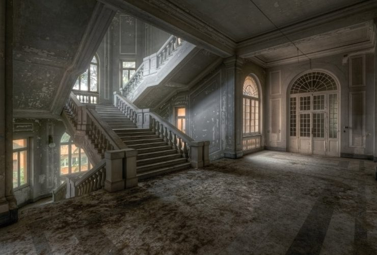 Жутко красивые лестницы