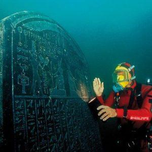 Гераклион, город под водой