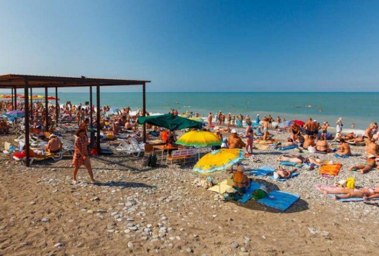 Лазаревские пляжи.